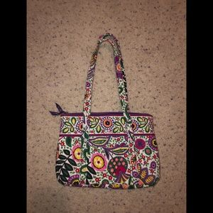 Vera Bradley retired print small purse